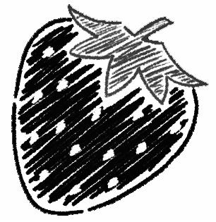 いちごのイラスト